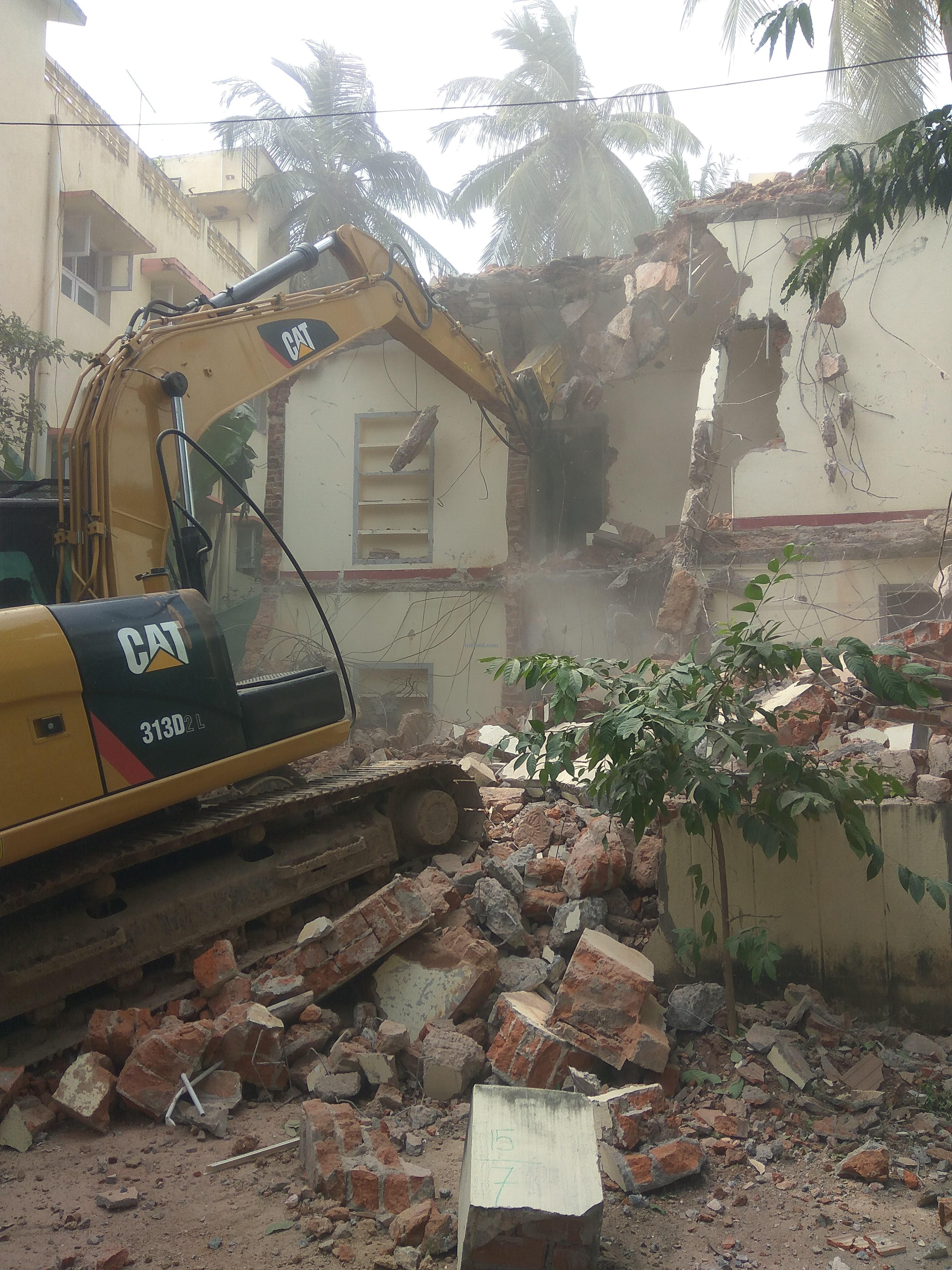 GANMAR Building Demolition Services Chennai Pondicherry Trichy Madurai